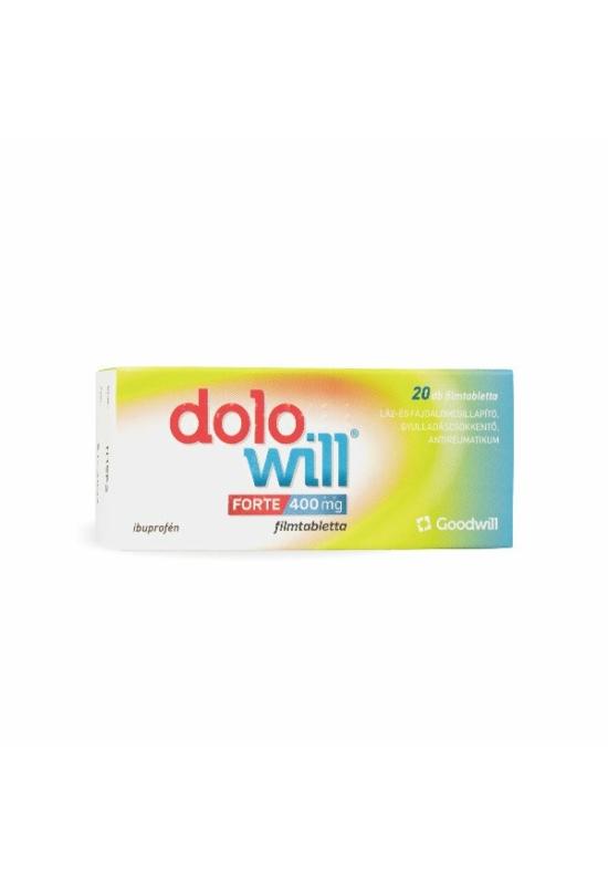 Dolowill Forte 400 mg filmtabletta (20x)