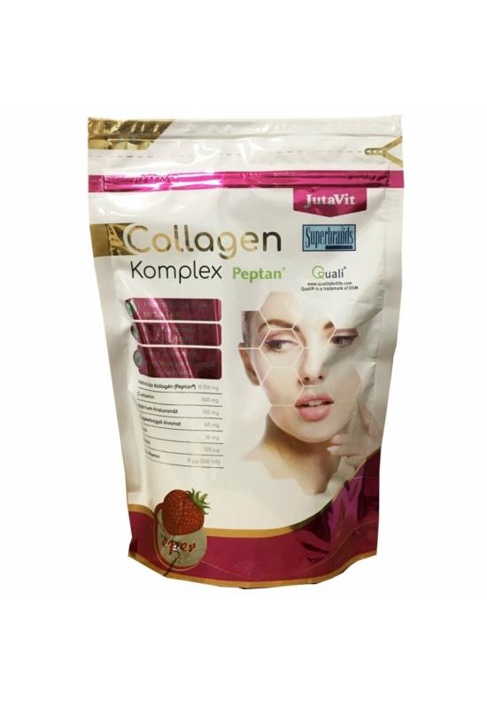 JutaVit Collagen Komplex eper ízű kollagén italpor