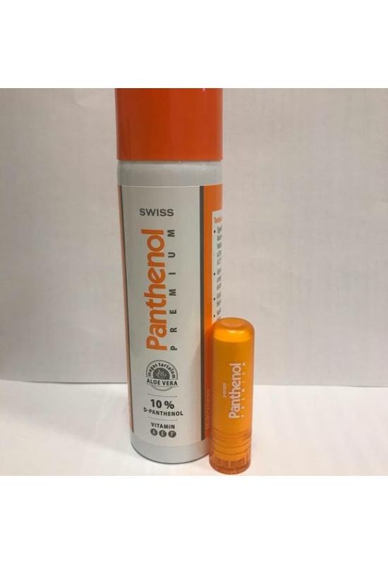 Swiss Prémium Panthenol 10% habspray 150ml  + Panthenol ajakápoló 4,8g