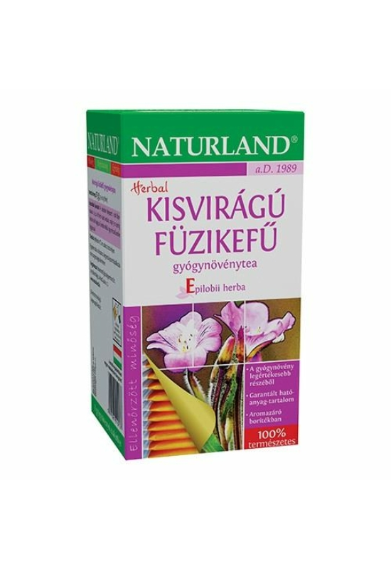 NATURLAND KISVIRÁGÚ FÜZIKEFŰ filteres tea 25 db