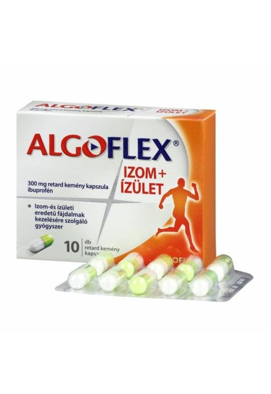 ALGOFLEX Izom+Ízület 300 mg retard kemény kapszula 10x