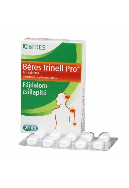 BERES TRINELL PRO FILMTABLETTA - 20X