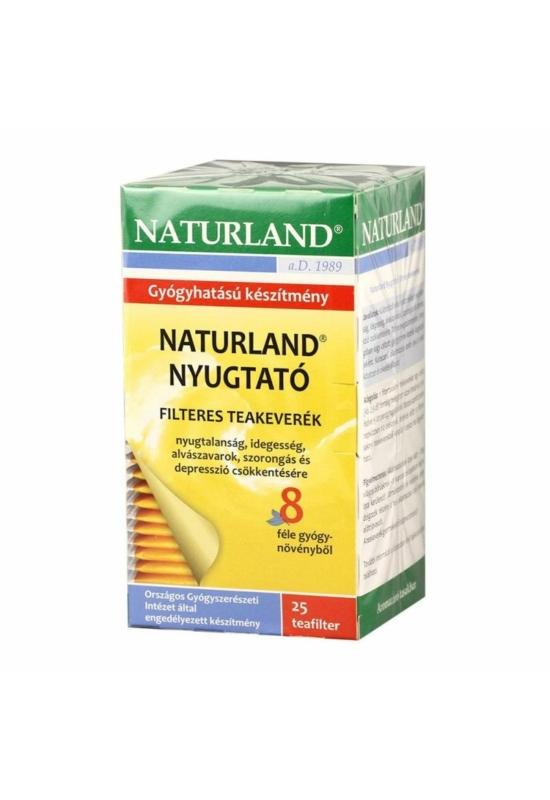 Naturland NYUGTATÓ teakeverék filteres 25 db