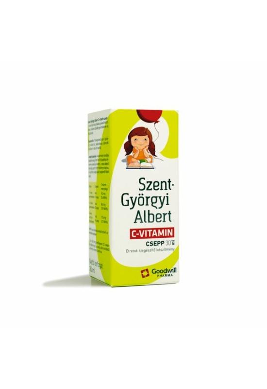 Szent-Györgyi Albert C-vitamin csepp 30ml