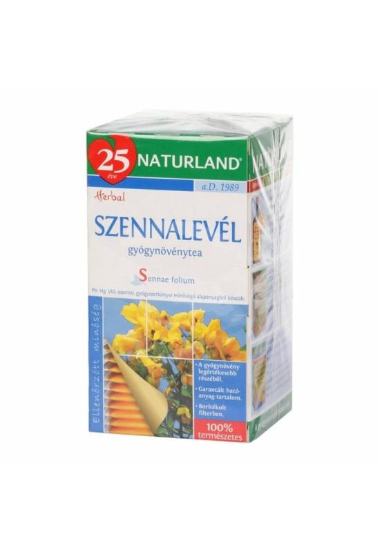 NATURLAND SZENNALEVÉL FILTERES tea 25 db