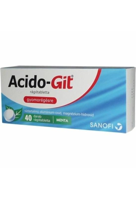 ACIDO-GIT MAALOX RÁGÓTABLETTA - 40X BUB