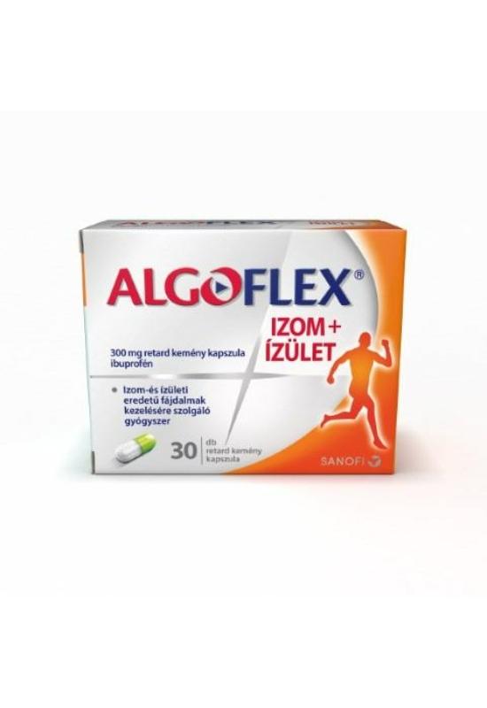 ALGOFLEX Izom+Ízület 300 mg retard kemény kapszula 30x