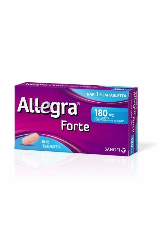 ALLEGRA FORTE 180 MG FILMTABLETTA - 10X