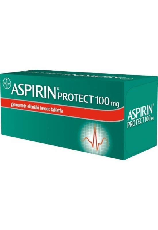 ASPIRIN PROTECT 100 MG GYOMORNEDV ELLENÁLLÓ BEVONT TABLETTA - 28X