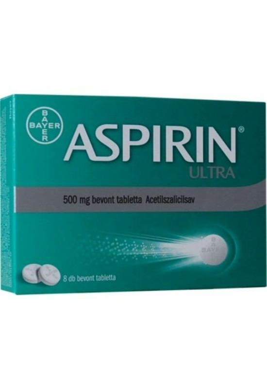 ASPIRIN ULTRA 500 MG BEVONT TABLETTA - 8X