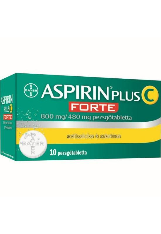 ASPIRIN PLUS C FORTE 800MG/480MG PEZSGŐTABLETTA - 10X