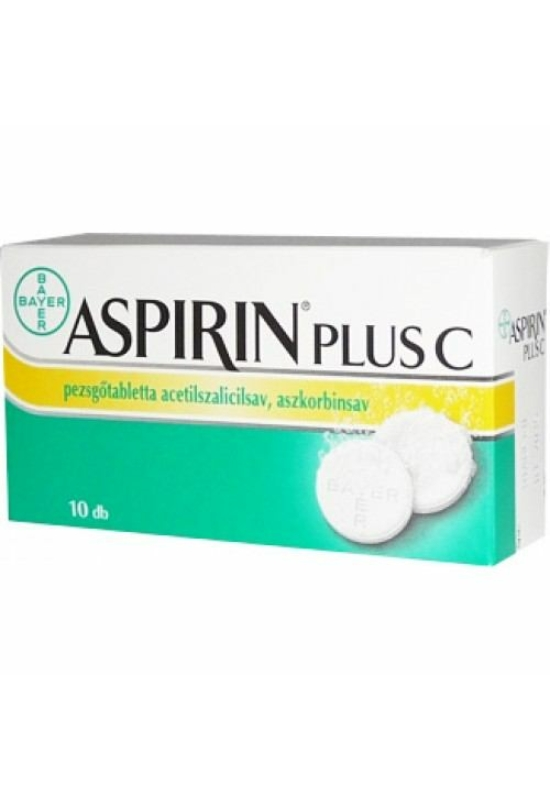 ASPIRIN PLUS C PEZSGŐTABLETTA - 10X