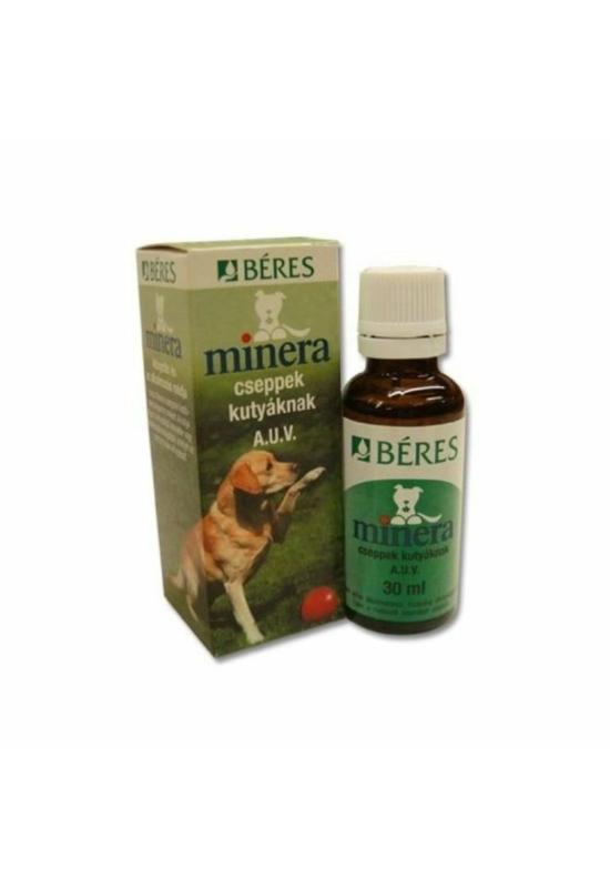 Béres Minera táplálékkiegészítő csepp kutyáknak 30 ml
