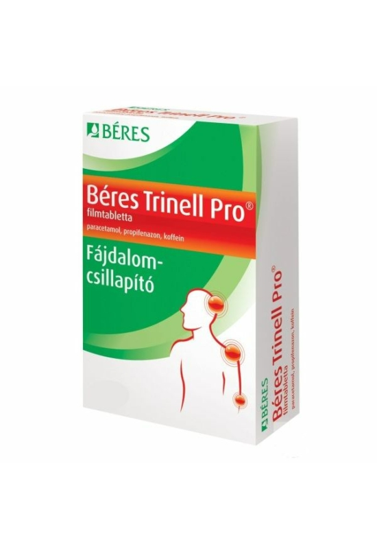 BERES TRINELL PRO FILMTABLETTA - 10X