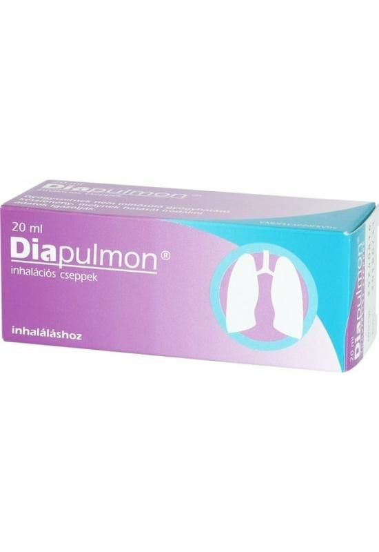 DIAPULMON INHALÁCIÓS CSEPPEK - 20ML