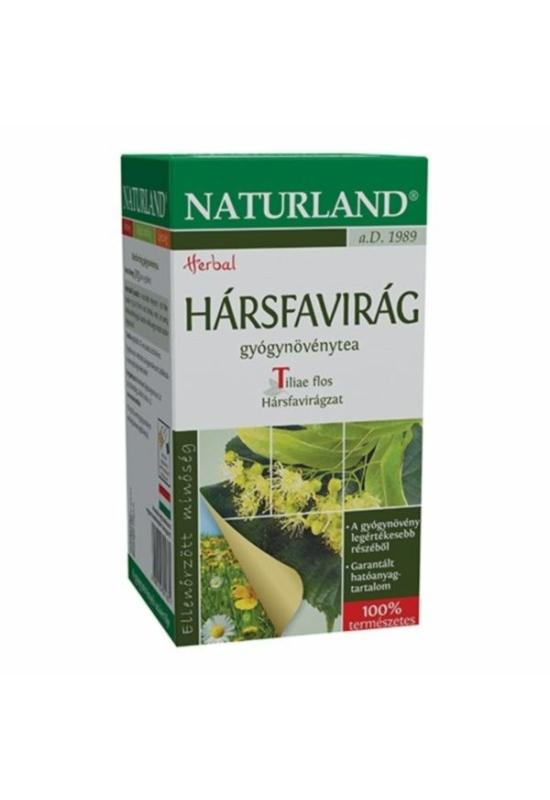 NATURLAND HÁRSFAVIRÁG filteres tea 20 DB