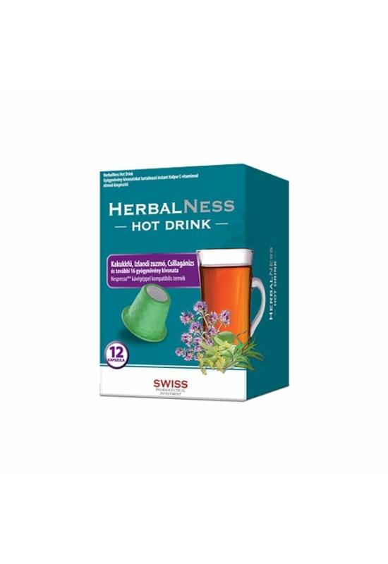 HERBALNESS HOT DRINK 12X