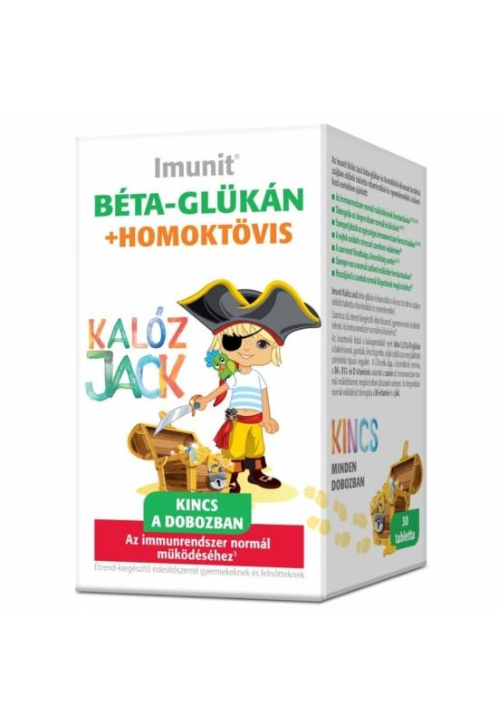 Imunit Kalóz Jack béta-glükán+homoktövis-kivonat tabletta 30db