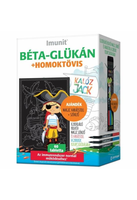 Imunit Kalóz Jack béta-glükán+homoktövis-kivonat tabletta 60db