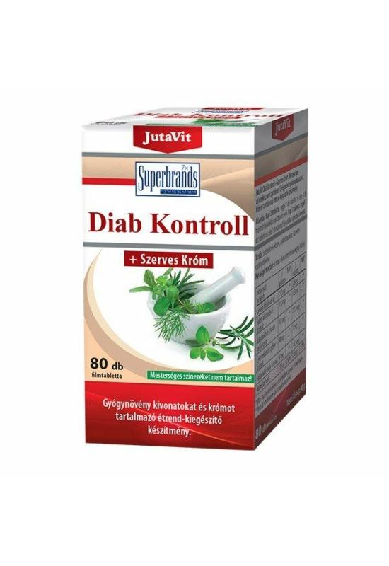 JUTAVIT DIAB KONTROLL TABLETTA - 80X
