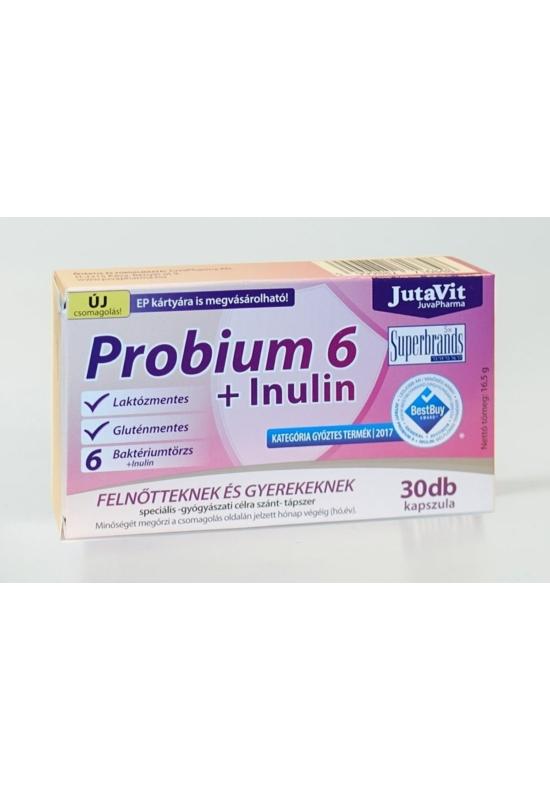 JUTAVIT PROBIUM 6+INULIN - 30 X