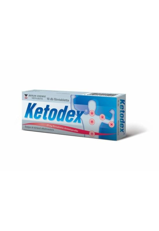 Ketodex 25mg filmtabletta 10x