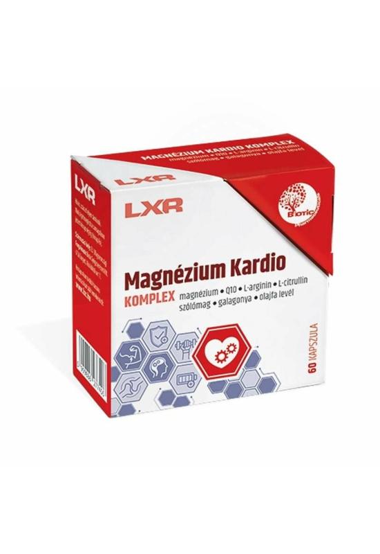 LXR Magnézium Kardio Komplex – 60x