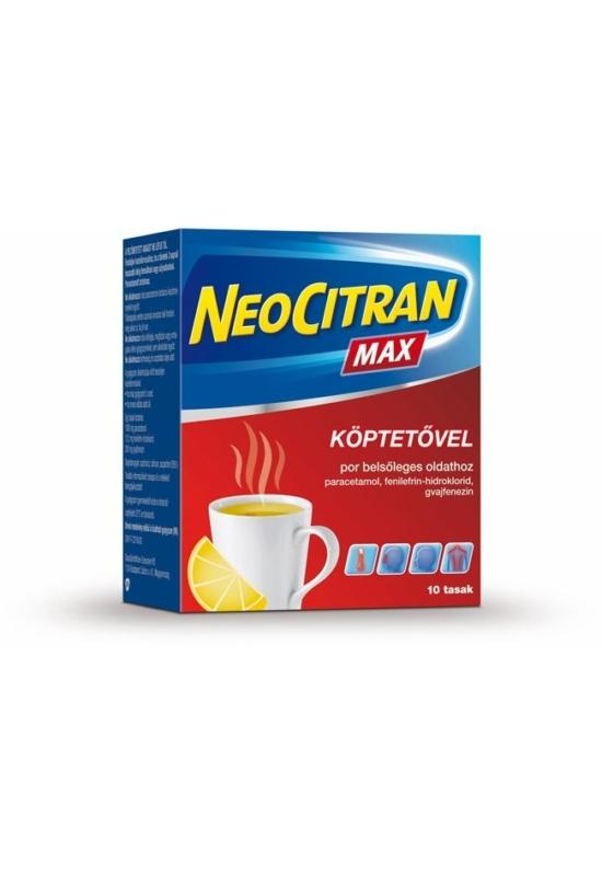 NEO CITRAN MAX KÖPTETŐVEL POR BELSŐLEGES OLDATHOZ - 10X