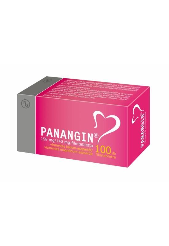PANANGIN 158MG/140MG FILMTABLETTA - 100X BUB