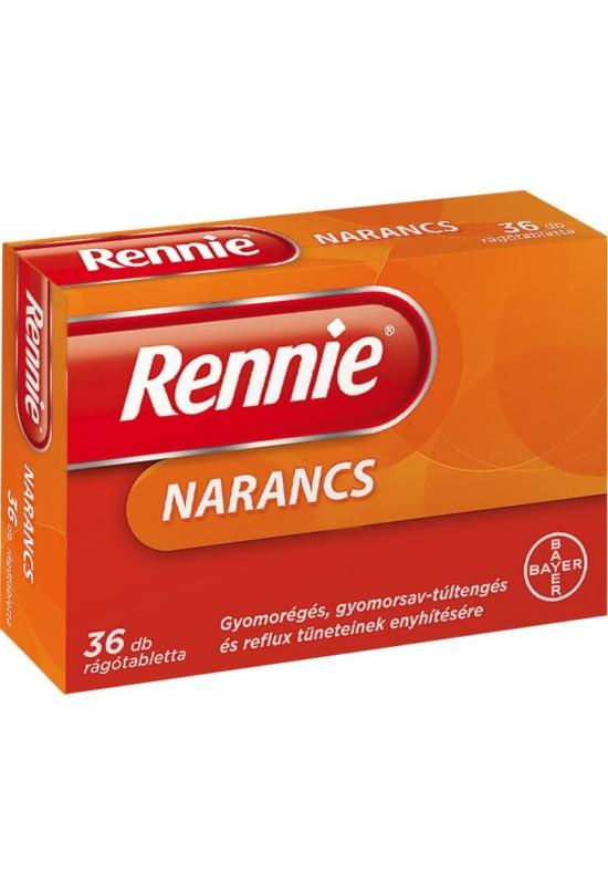 RENNIE NARANCS RÁGÓTABLETTA - 36X BUB