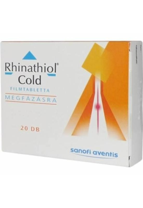 RHINATHIOL COLD FILMTABLETTA MEGFÁZÁSRA - 20X