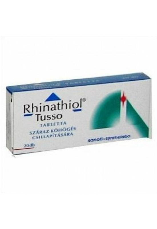 RHINATHIOL TUSSO TABLETTA - 20X