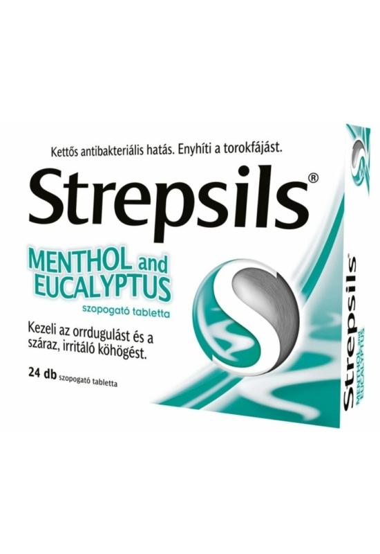 STREPSILS MENTHOL AND EUCALYPTUS TABLETTA - 24X