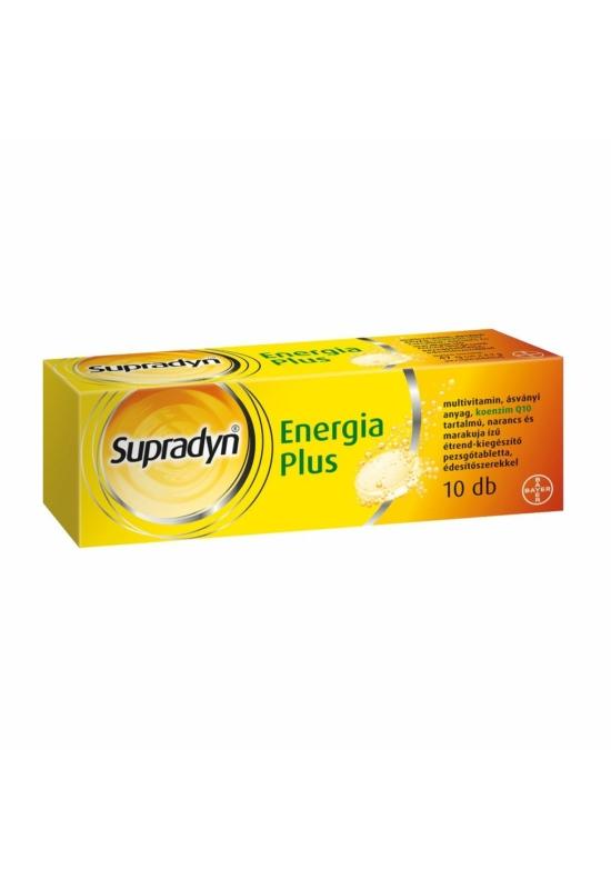 SUPRADYN ENERGIA PLUS PEZSGŐTABLETTA - 10X