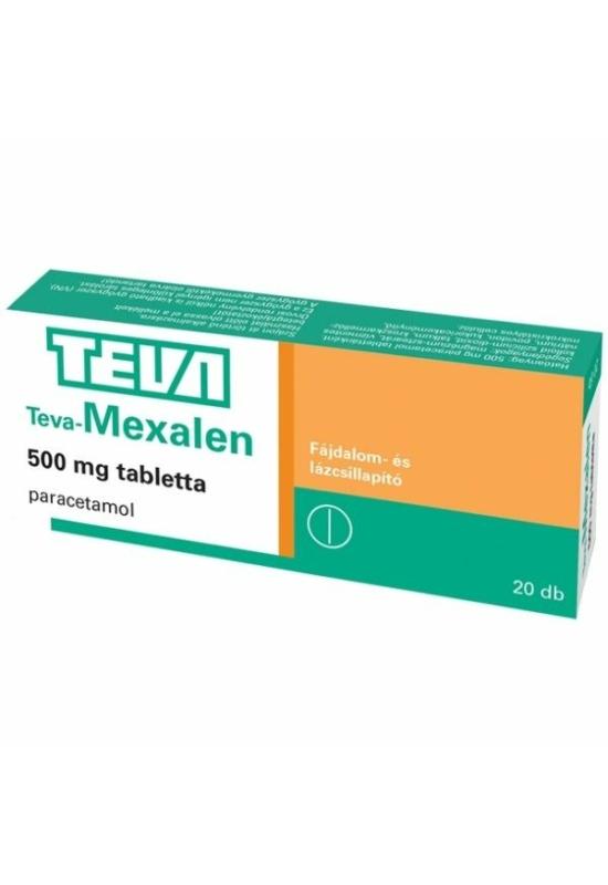TEVA-MEXALEN 500MG TABLETTA - 20X BUB